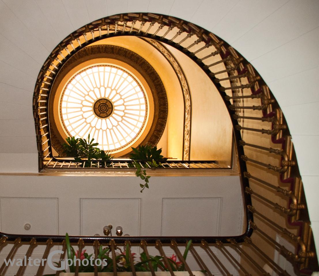 Hotel Stairwell, London
