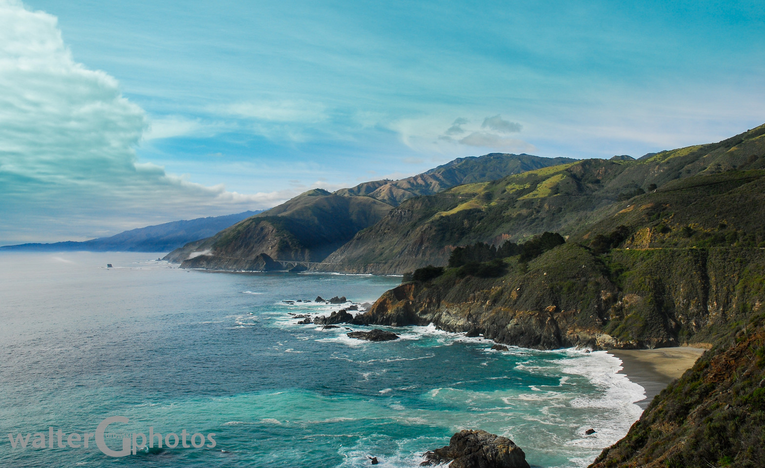 Pacific Coast Highway Seascape