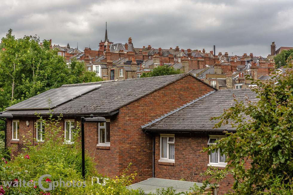 London Rooftops, London, England