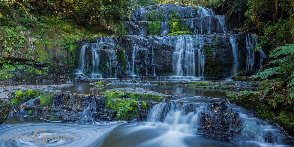 Purakaunui Falls, SI, New Zealand