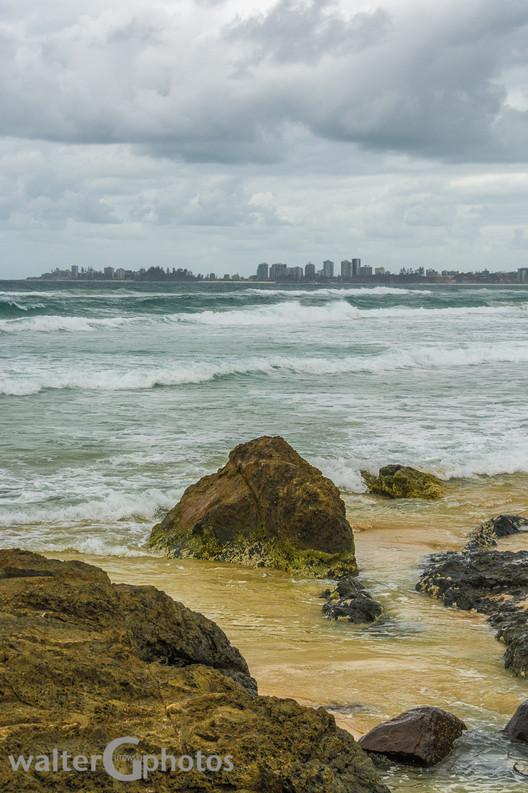 Seascape at Coolangatta, Gold Coast