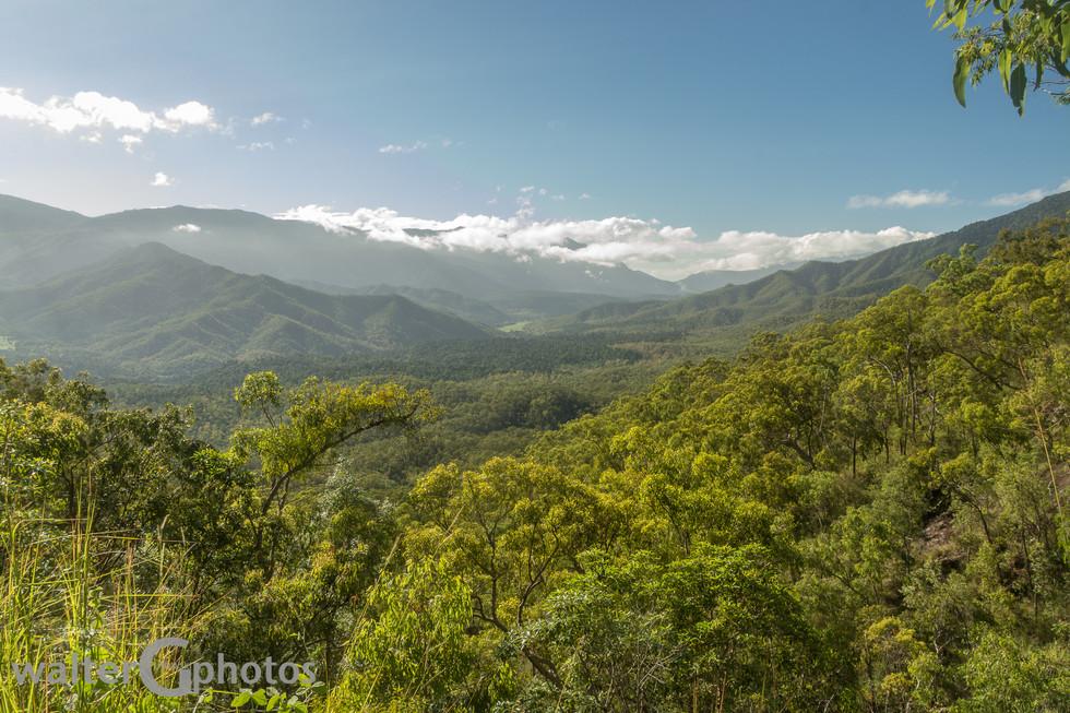 Landscape SW of Cairns
