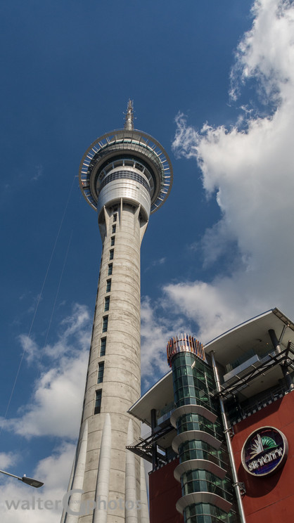 Sky Tower, Auckland, NI, New Zealand