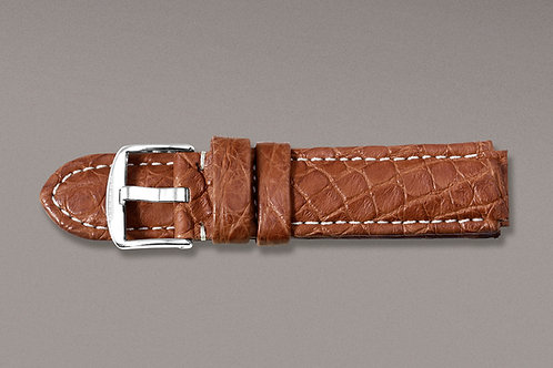 Crocodile Leather Strap XL