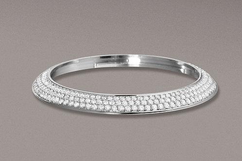 Bezel Diamonds 3 rows