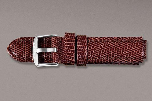 Lizard leather strap XL