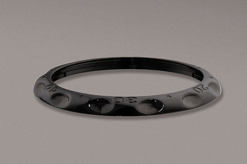 Bezel Polished Steel Black