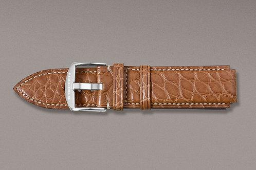 Crocodile Leather Strap XL
