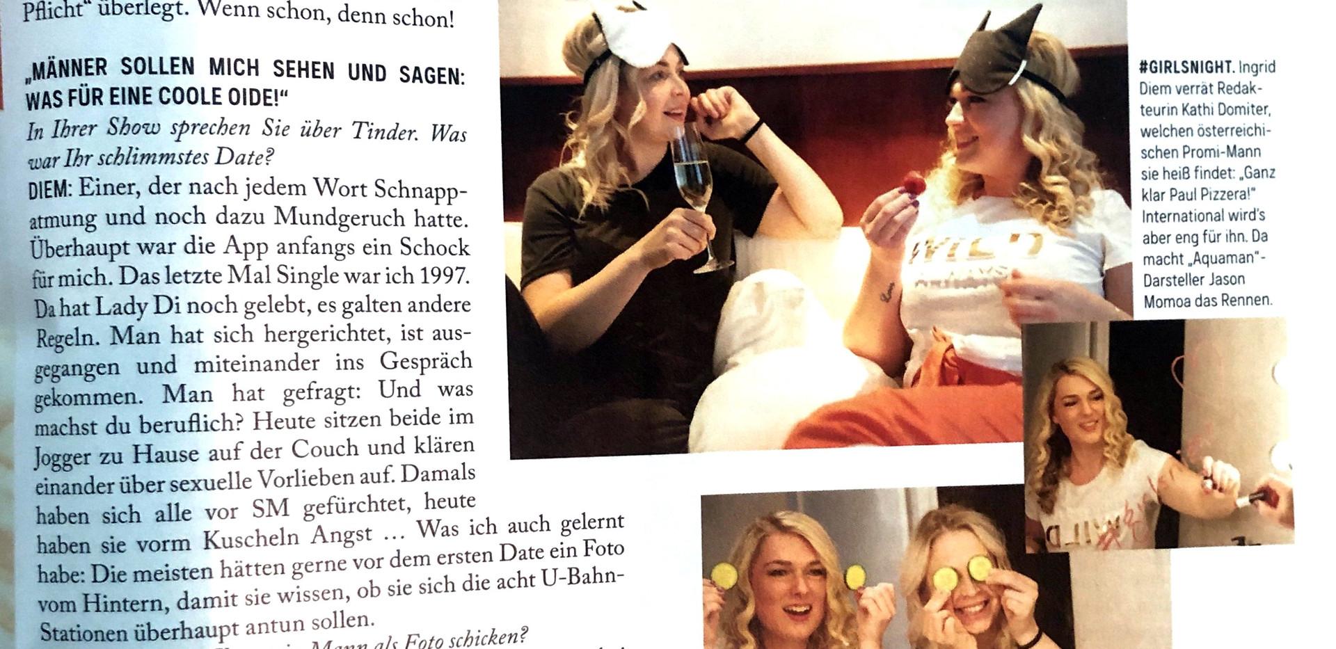 Ingrid Diem Kurier Schlagabtausch