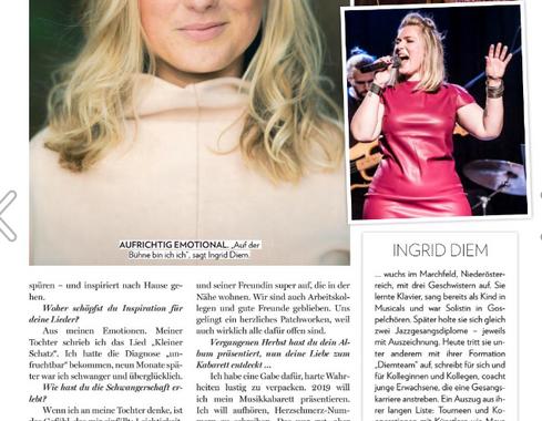 Ingrid Diem in der Niederösterreicherin