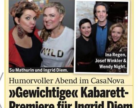 Ingrid Diem in der Österreich