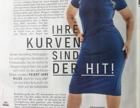 Ingrid Diem in der Woman