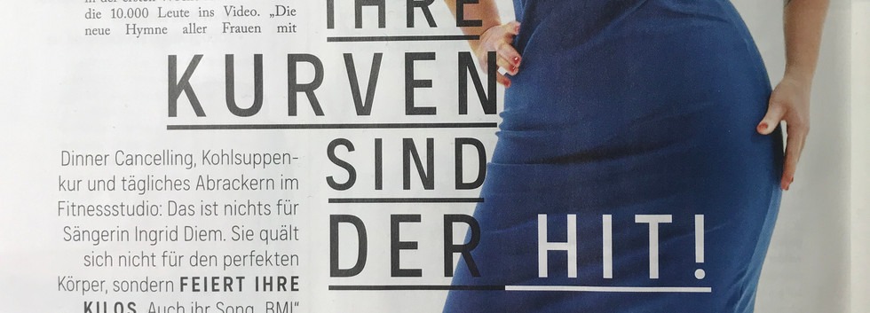 Ingrid Diem in der Woman
