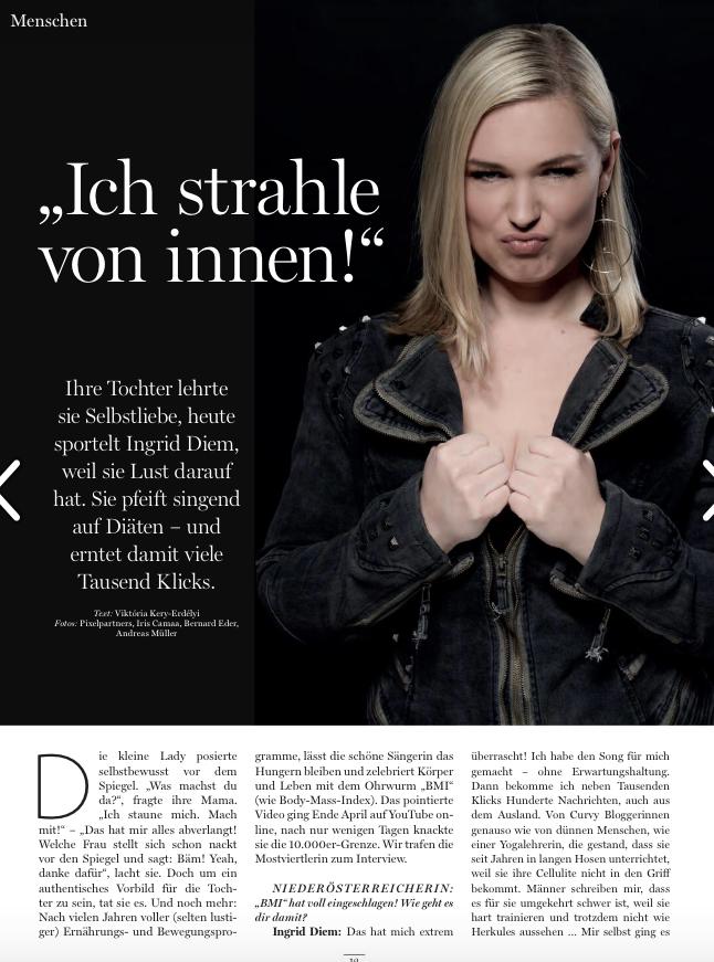 Ingrid Diem in der Niederösterreichein