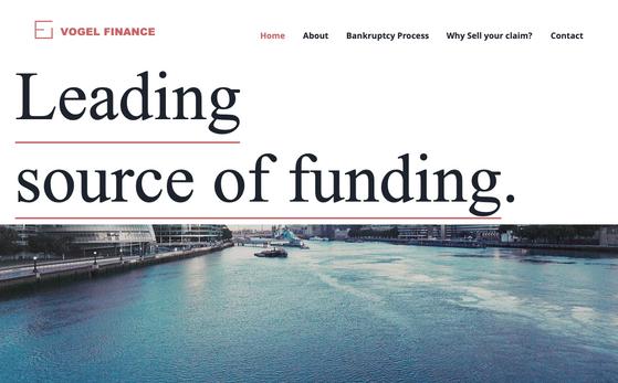 Finance - Website Copy - Website Design