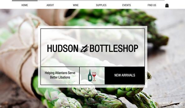 Hudson BottleShop - Web Design - Website