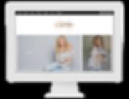 Carly Mathis - Website Design - I Do Soc