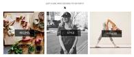 Influencer Website Banner - Design - Web