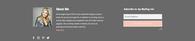 Contact Slider - website design - I do s