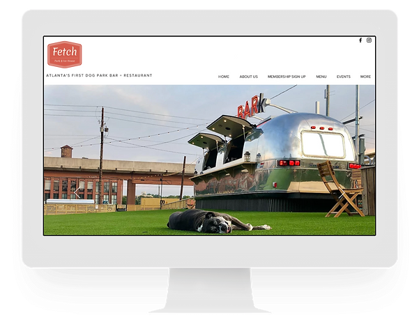 Fetch Park - Web Designer - Freelance -