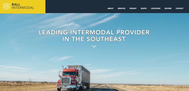 Ball Intermodal - Website - Design - Web