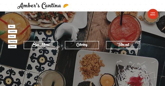 Mexican Cantina - Website Design - Websi