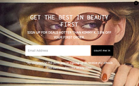 Website Pop Up - Freelance Web Designer
