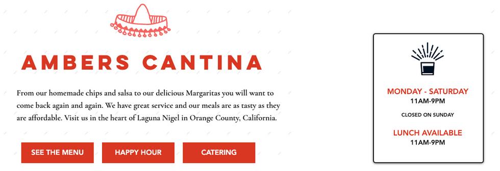Mexican Cantina - Infographic - Copywrit