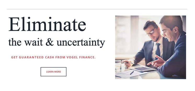 Finance Website Banner - Web Copywriter