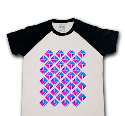 Camiseta Oberta 3T Chico Blanco & Negro