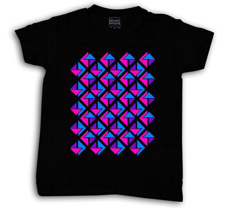 Camiseta Oberta 3T Chico Negro