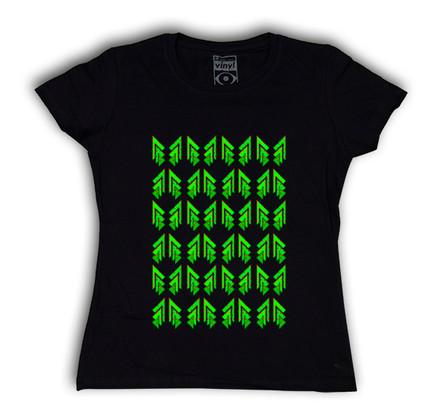 Camiseta Oberta Christmas Chica Negro