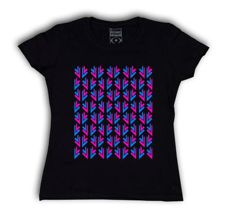 Camiseta Oberta Fiesta Chica Negro