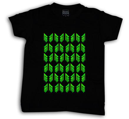 Camiseta Oberta Christmas Chico Negro