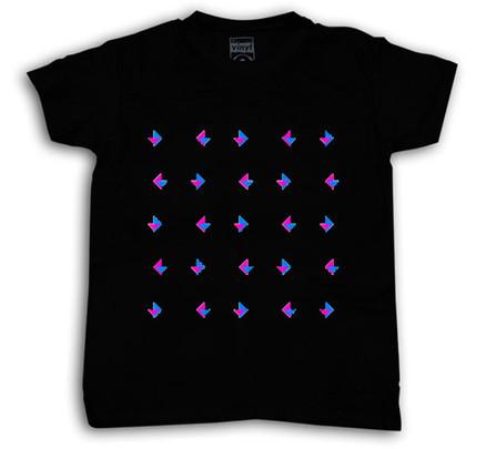 Camiseta Oberta Chico Negro