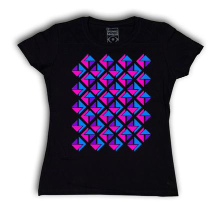 Camiseta Oberta 3T Chica Negro