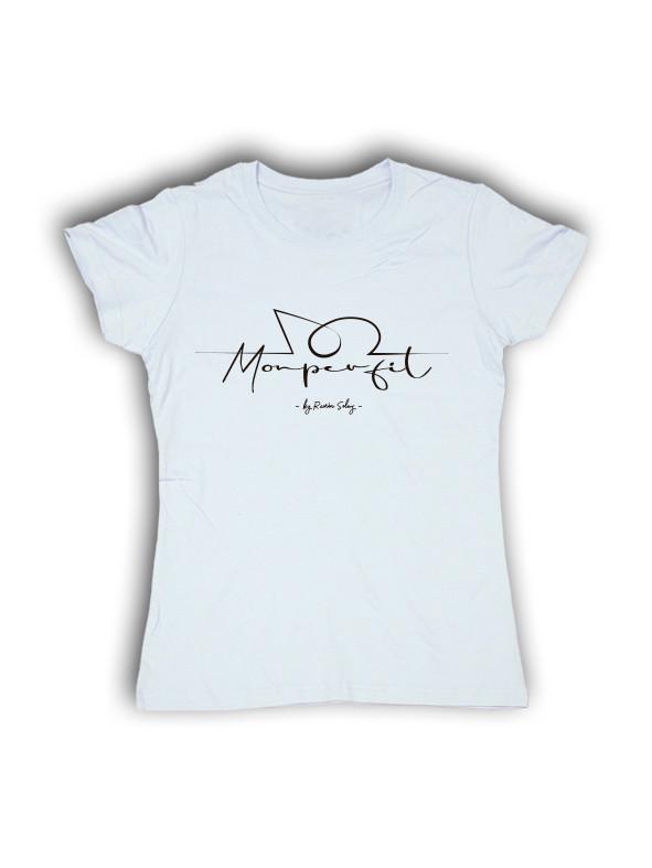 Camiseta Monperfil Chica Blanco