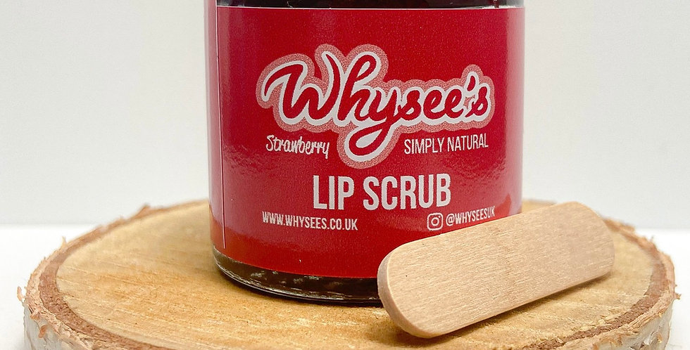 Whysee's® Strawberry Lip Scrub