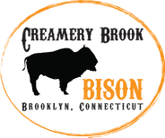 Creamery Brook Bison Logo