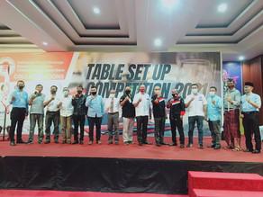 IFBEC NTB Sukses Menggelar Acara Table Set Up Competition 2021. Berikut Daftar Pemenangnya
