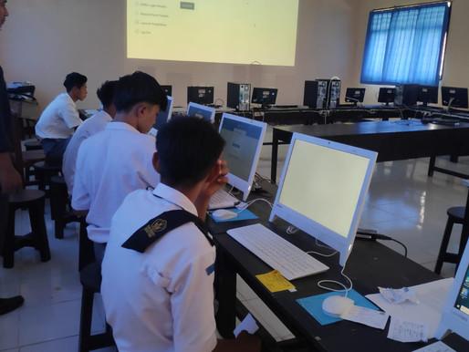 Ukur Mutu Sekolah, SMKN 1 Sekotong Laksanakan Kegiatan ANBK