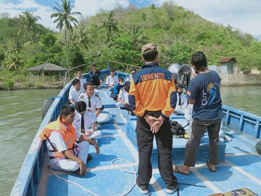 Perkuat Kemampuan Kru Kapal, SMKN 1 Sekotong Datangkan Pelatih Diving