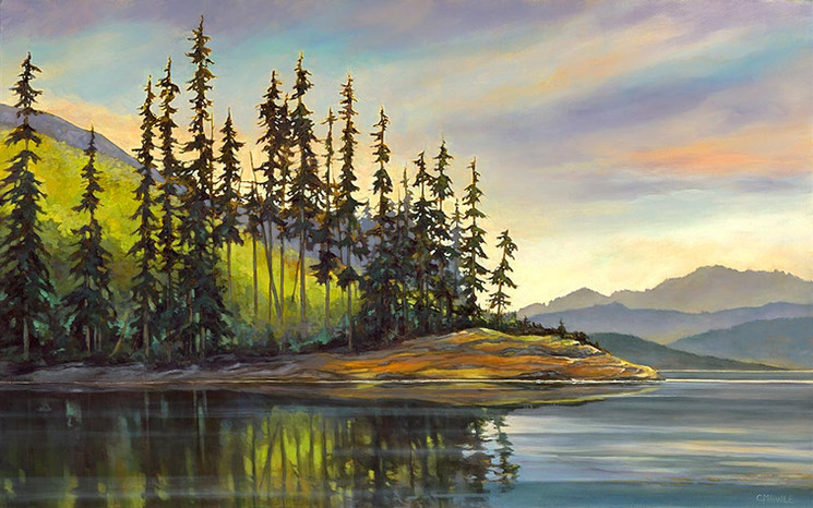 SOLD-Peaceful Reflection