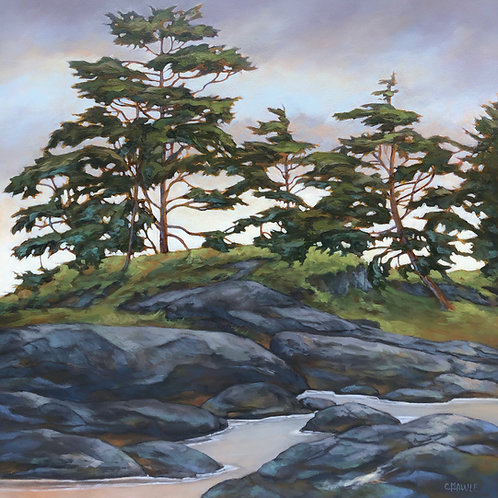Trees Above the Tideline Limited Edition Reproduction