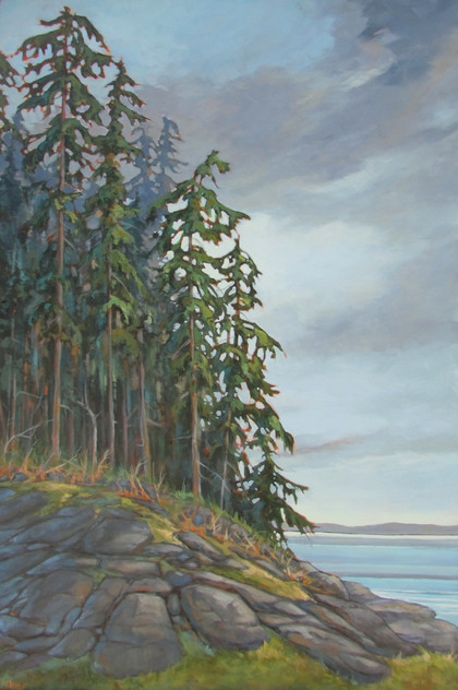 SOLD-When the Forest Meets the Shore
