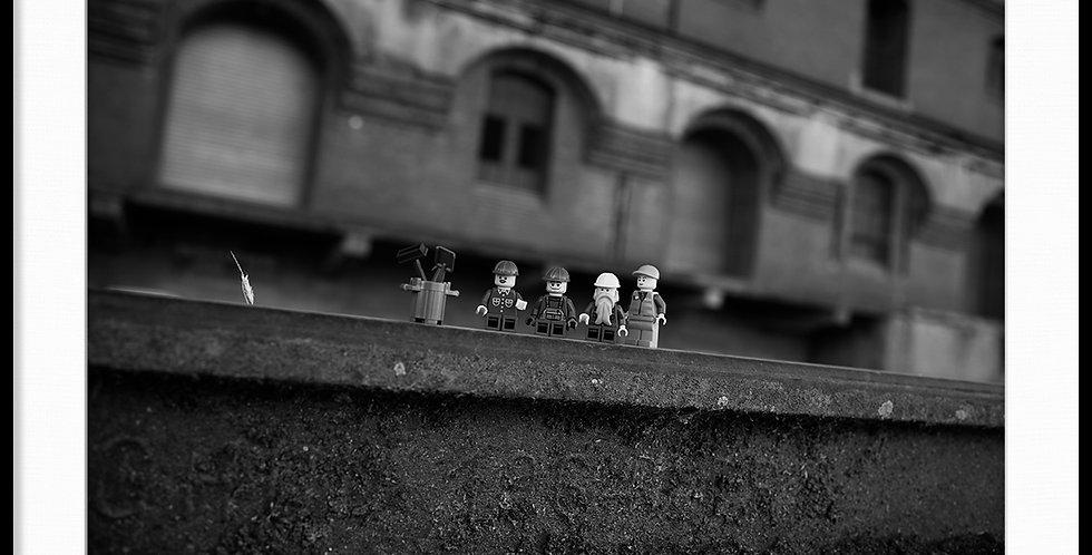 """""""WORK TRAIN"""" by M. Israel"""