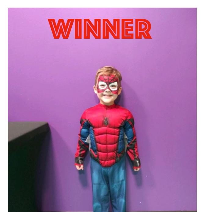 Super Hero Day Winner