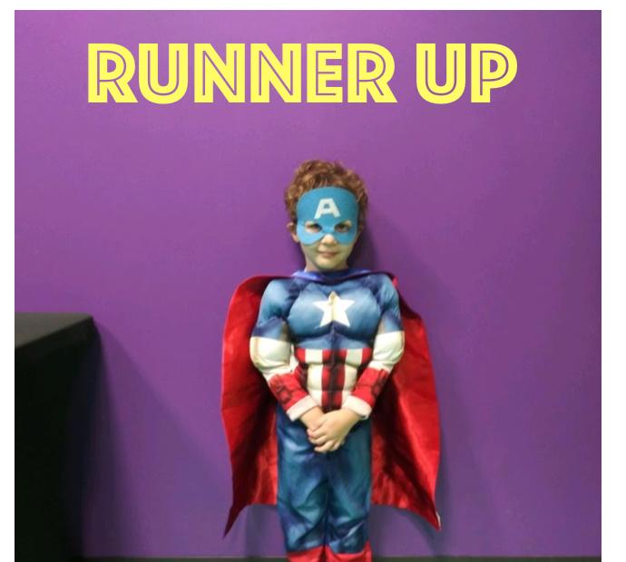 Super Hero Day Runner up