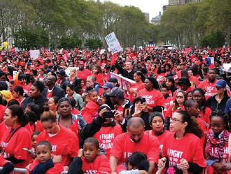 Rallying for New York City Charter Schools