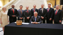Georgia Governor Signs Facilities Law